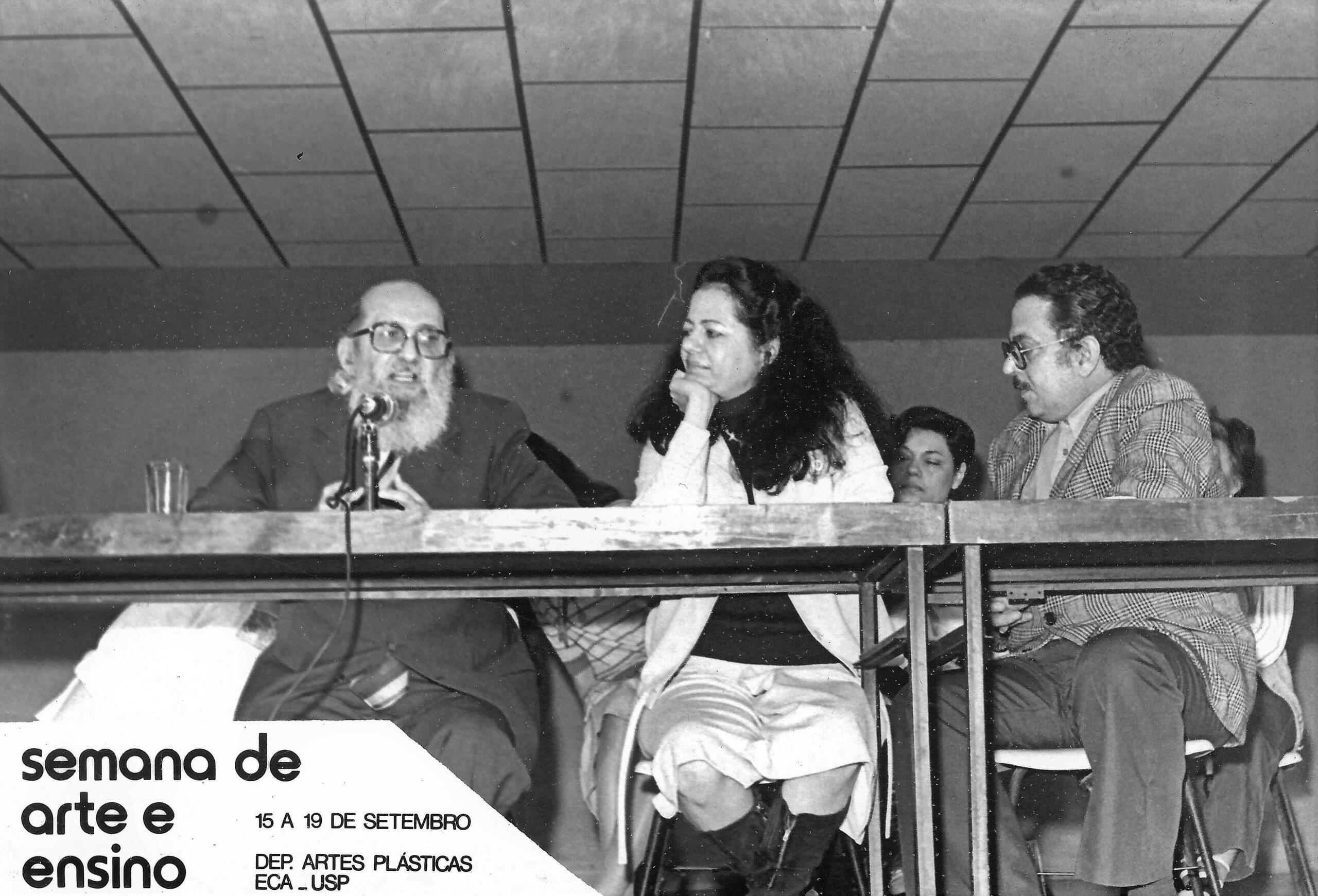 Sala Paulo Freire estreia com Ana Mae Barbosa
