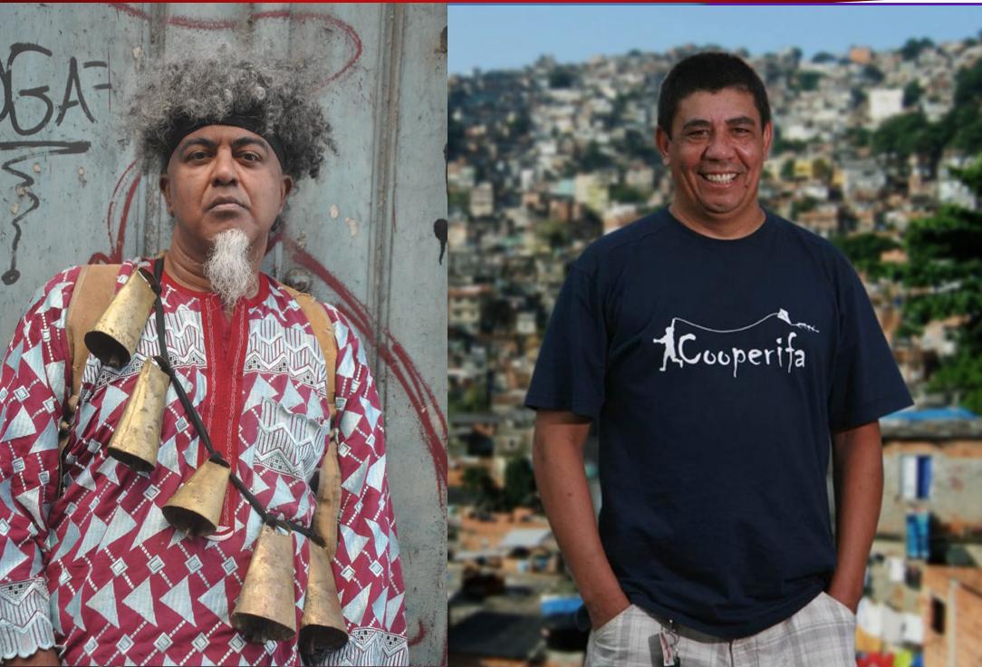 Balada tem Conversa começa com um papo entre os poetas Nelson Maca e Sergio Vaz