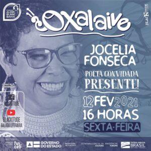 Quarta edição da Oxalaive será com Jocelia Fonseca