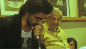 Raduan Nassar e Luiz Fernando Carvalho na Balada Literária 2012