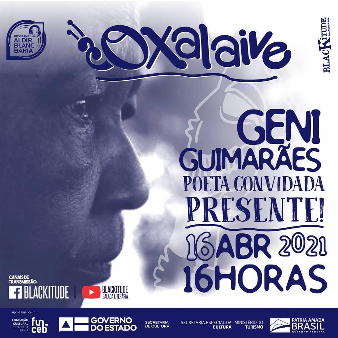 Oxalaive recebe Geni Guimarães