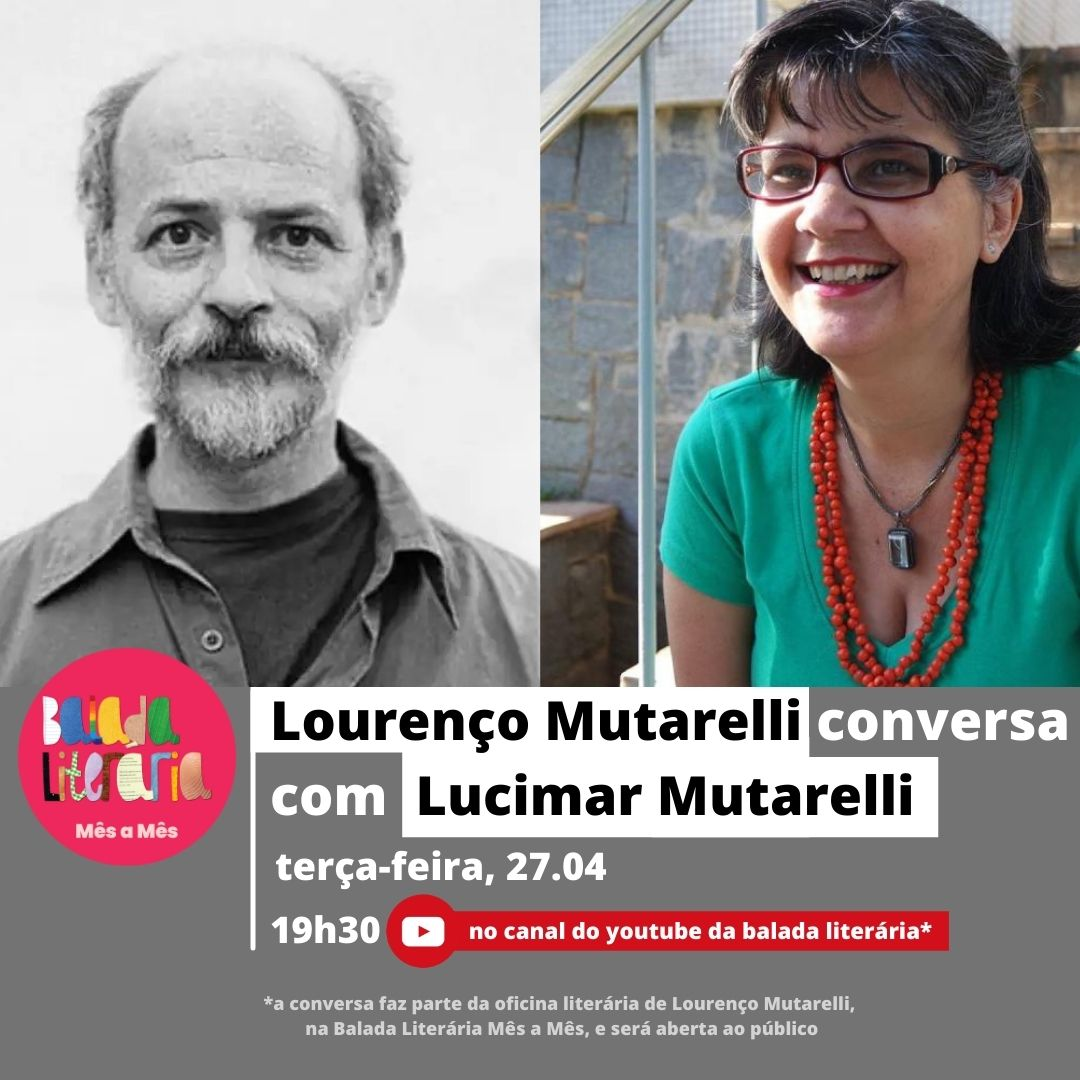 Lourenço Mutarelli conversa com Lucimar Mutarelli