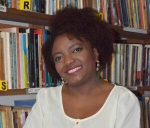 Rosane Borges falou sobre jornalismo na Sala Paulo Freire, na Balada Literária de abril