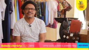 Uma aula sobre a poesia negra feita na Bahia, com Silvio Roberto Oliveira
