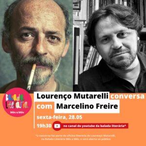 Lourenço Mutarelli conversa com Marcelino Freire