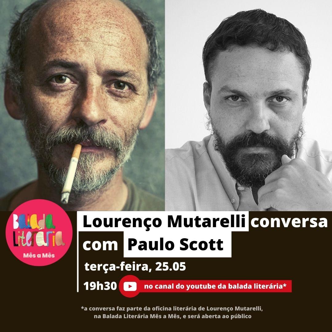 Lourenço Mutarelli conversa com Paulo Scott