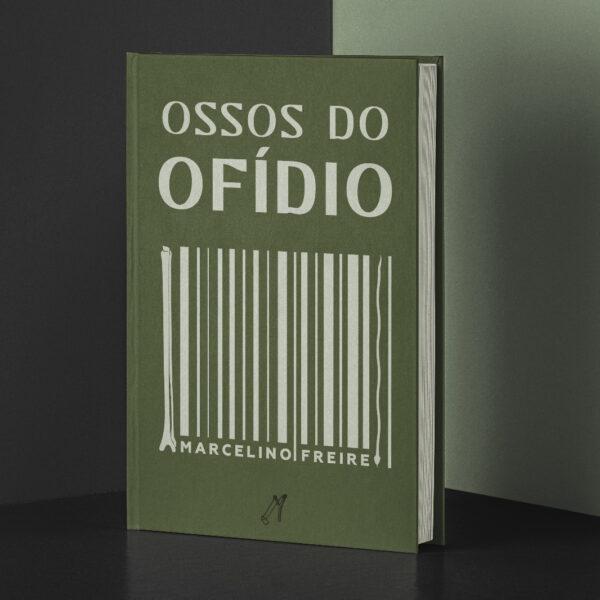 'Ossos do Ofídio', livro de Marcelino Freire