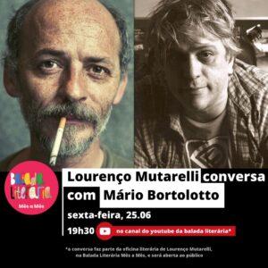 Lourenço Mutarelli conversa com Mário Bortolotto