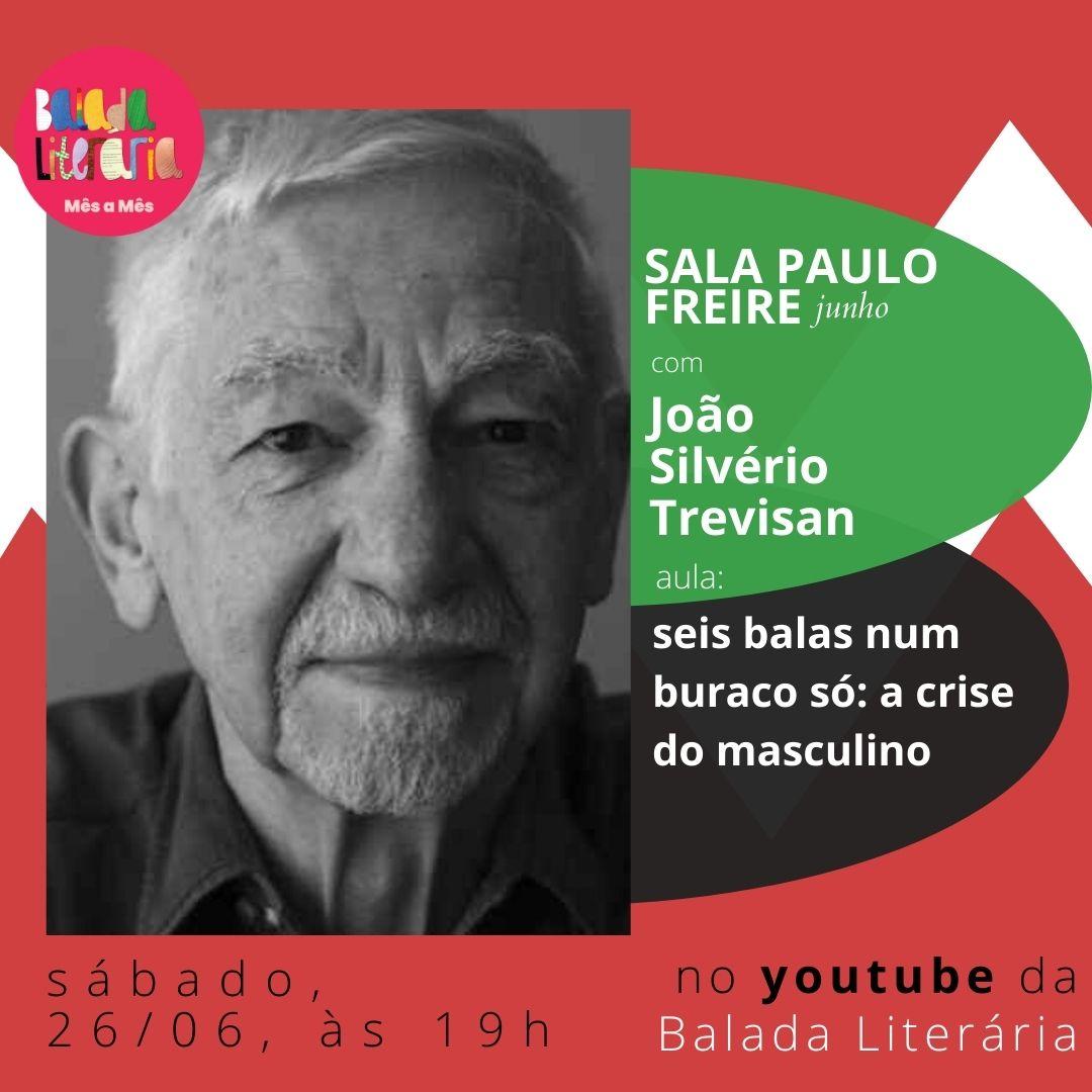 Sala Paulo Freire de junho teve como convidado João Silvério Trevisan