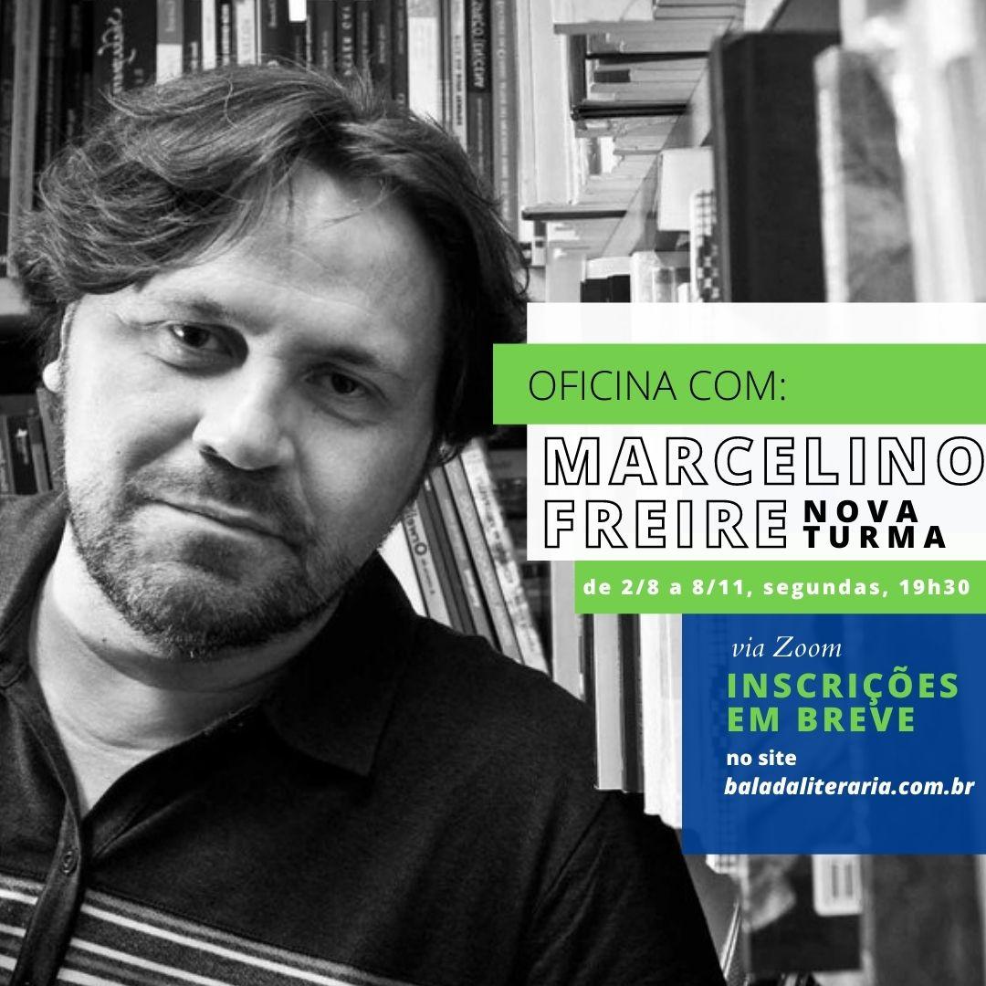 Nova turma para oficina literária com Marcelino Freire