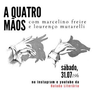 Marcelino Freire e Lourenço Mutarelli tiram dúvidas de escrita literária na estreia da série 'A Quatro Mãos'