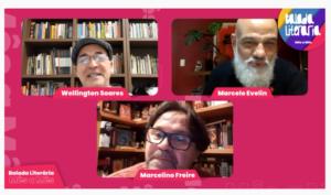 Marcelo Evelin é o homenageado da Balada Literária de Teresina (PI)
