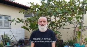 Recado de Marcelo Evelin, homenageado da Balada Literária 2021